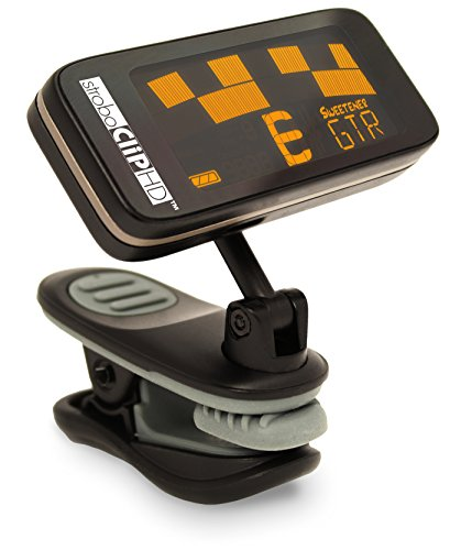 Peterson StroboClip HD Clip-On Tuner | Guitar, Bass, Violin, Ukulele,...