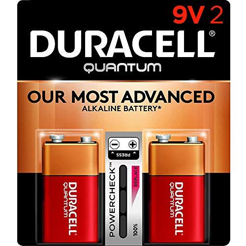 Duracell - Quantum 9V Alkaline Batteries - long lasting, all-purpose 9...