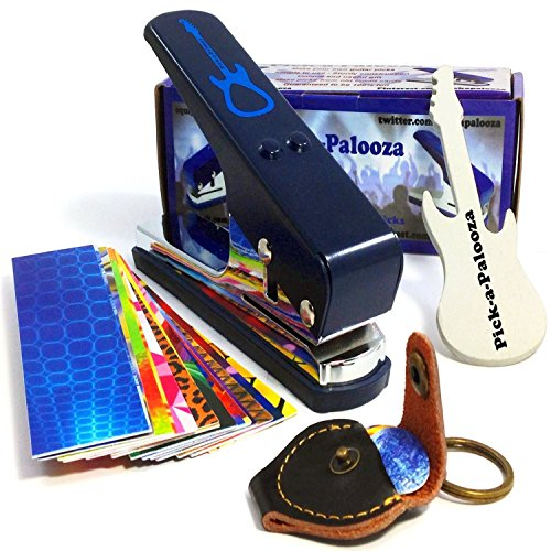 Pick-a-Palooza DIY Guitar Pick Punch Mega Gift Pack - the Premium Pick...