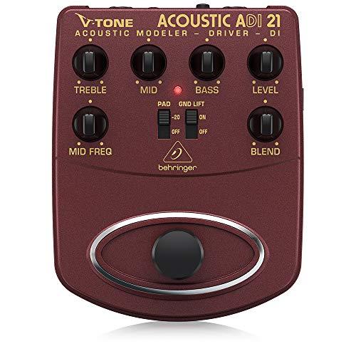 Behringer V-Tone Acoustic Driver DI ADI21 Amp Modeler/Direct Recording...