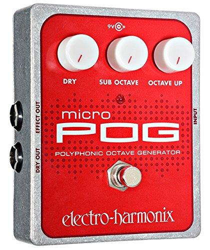 Electro Harmonix Micro POG Polyphonic Octave Generator Guitar Effects...