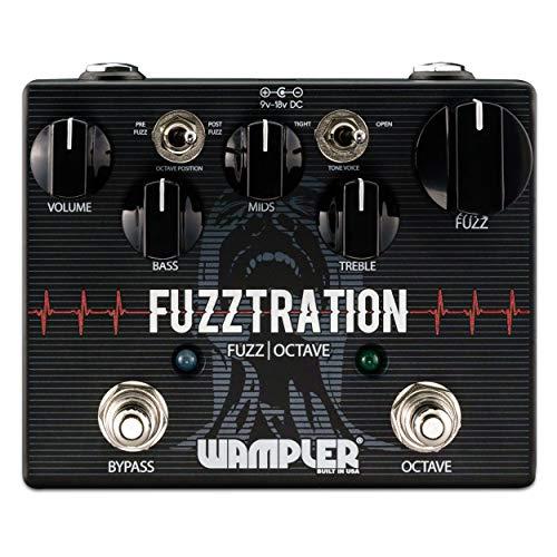 Wampler Fuzztration Fuzz & Octave Guitar Effects Pedal