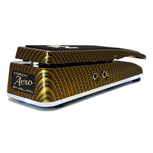 Mission Engineering SP25L Pro Aero Expression Pedal Gold Carbon