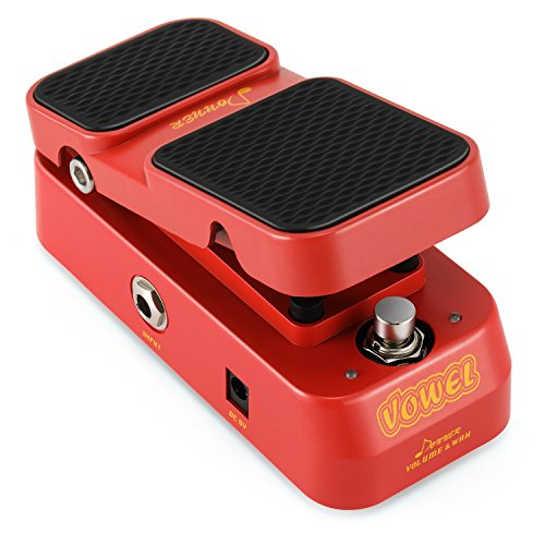 Donner Wah Guitar Pedal, Vowel 2 in 1 Wah Volume Pedal Mini Vintage...