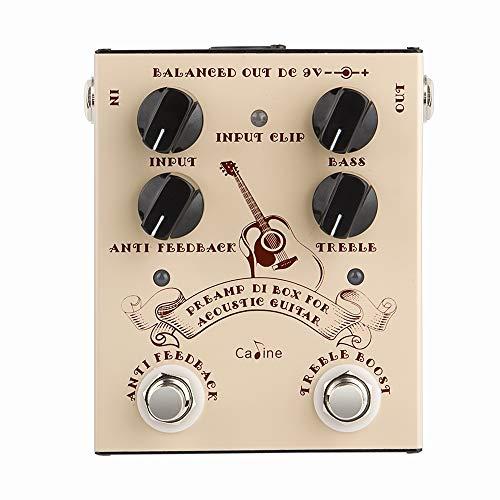 Caline Acoustic Guitar Effects Pedal DI Box Cabinet Simulator Pedal...