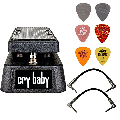 Dunlop Crybaby GCB-95 Classic Wah Pedal Bundle with 2 Patch Cables and...
