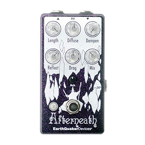 EarthQuaker Devices Afterneath V3 Reverberation Machine, Purple...