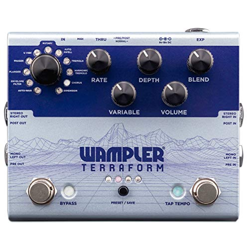Wampler Terraform Multi-Modulation Guitar Effects Pedal (WAMTERRAFORM)