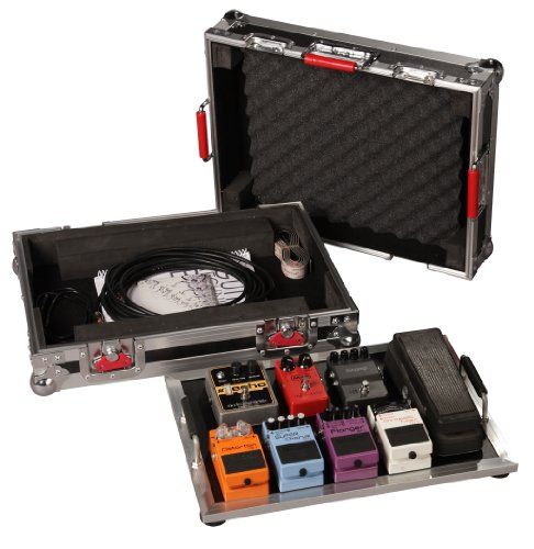 Gator Cases G-TOUR Series Guitar Pedal board with ATA Road Case;...
