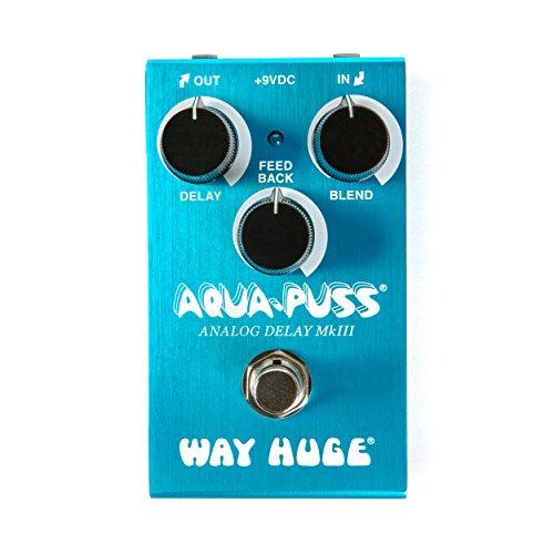 Way Huge Smalls Aqua-Puss Analog Delay Guitar Effects Pedal (WM71)
