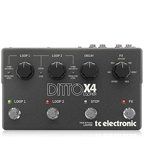 TC Electronic Ditto X4 Looper Effects Guitar Pedal