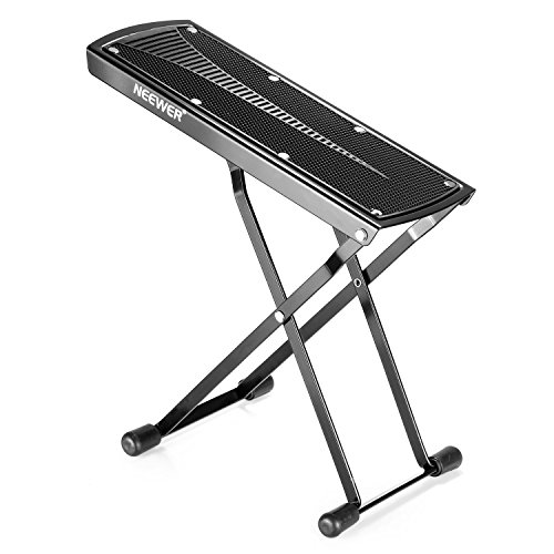 Neewer Extra Sturdy Guitar Foot Rest Made of Solid Iron, Provides Six...