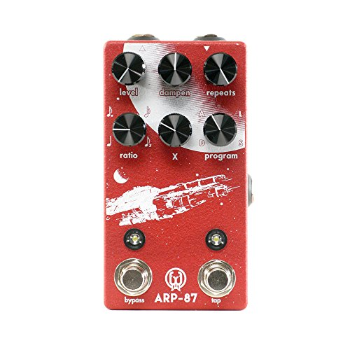 Walrus Audio ARP 87 Multi Function Delay, Limited Edition Red/White,...