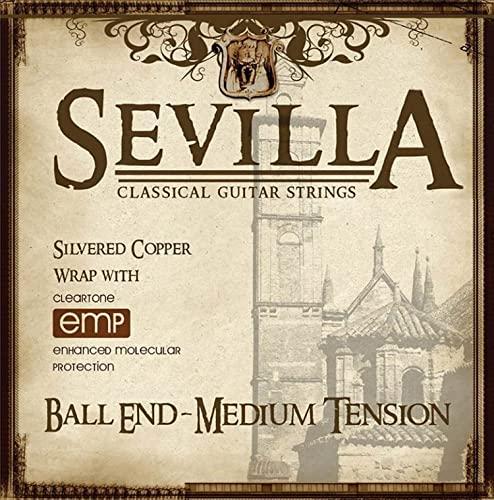 Sevilla Treated Classical Guitar Strings (MEDIUM TENSION BALL END)