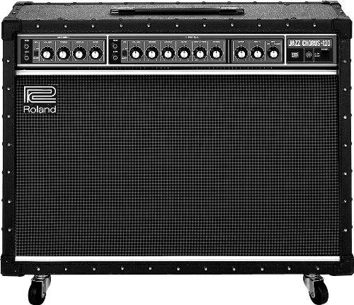 Roland JC-120 Jazz Chorus 120-Watt Guitar Amplifier with Two 12-Inch...
